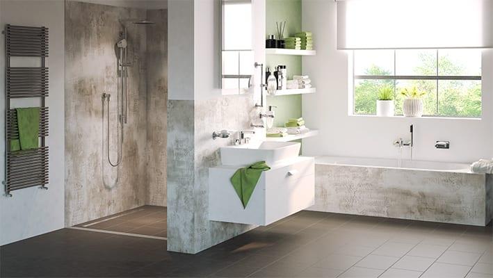 Homepage - Elanium Badezimmer renovieren ohne Fliesen