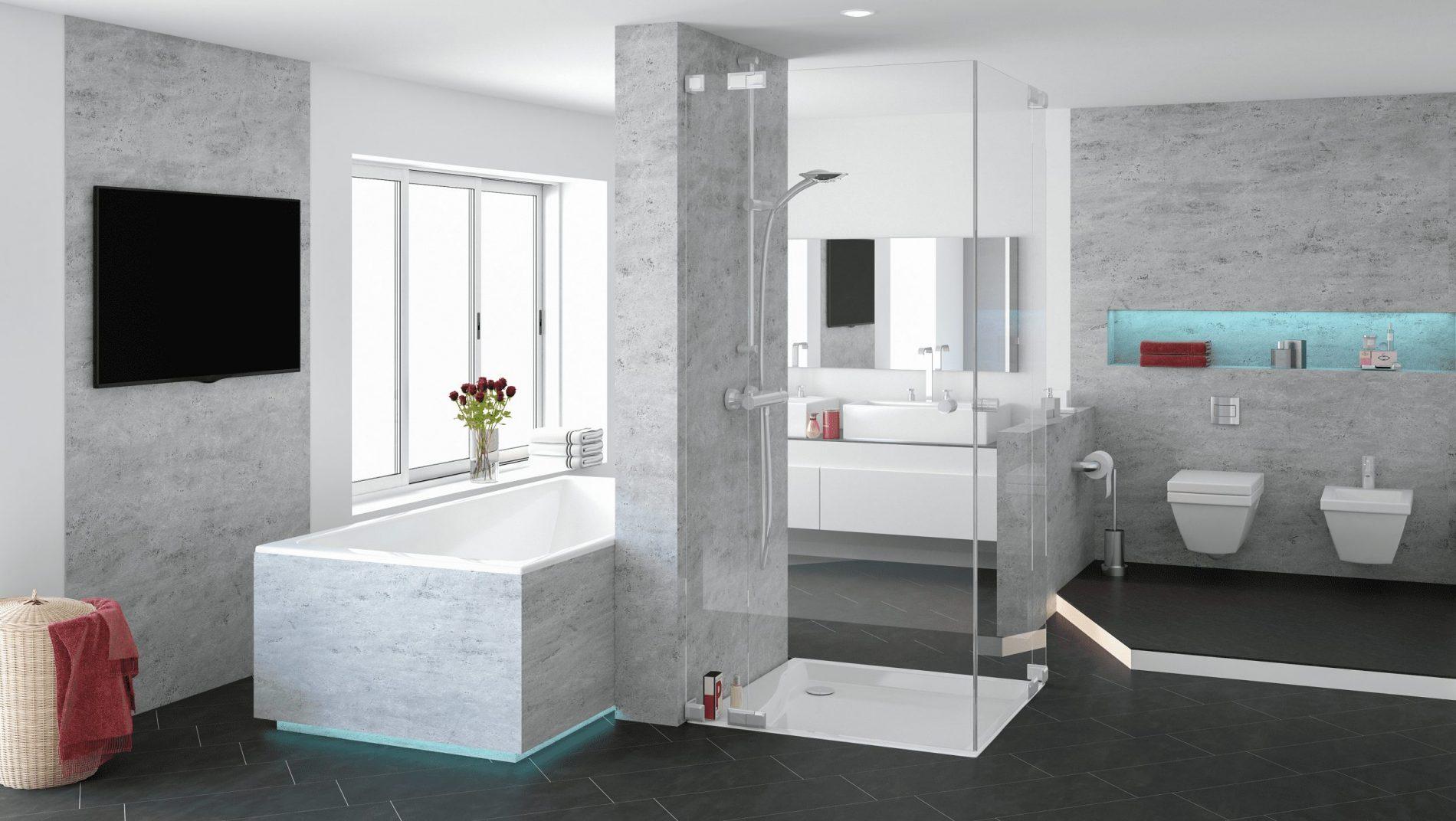 Elanium.de   Gestalte dein Badezimmer neu & mache dein Bad fliesenlos.