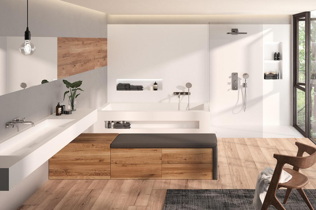 Badezimmer Fugenlos Renovieren Bad Ideen Zum Gestalten Sanieren